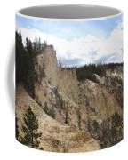 Grand Canyon Cliff In Yellowstone Coffee Mug