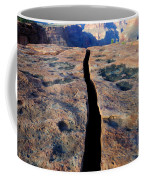 Grand Canyon Dividing Line Coffee Mug