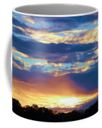 Grand Canyon Sky Over Treetops Coffee Mug