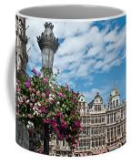 Grand Place Flowers Coffee Mug
