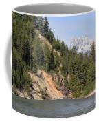 Grand Tetons From Snake River Coffee Mug