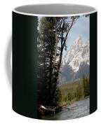 Grand Tetons Vertical Coffee Mug