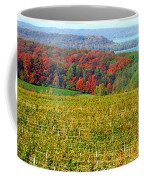 Grand Traverse Winery In Autumn Coffee Mug