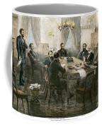 Grants Cabinet, 1869 Coffee Mug
