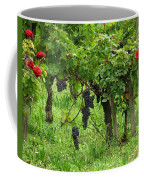 Grape Vines And Roses I Coffee Mug