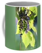 Grapes And Leaves Coffee Mug