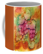Grapes With Rust Background Coffee Mug