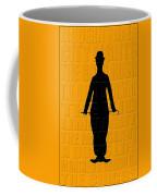 Graphic Chaplin Coffee Mug by Andrew Fare