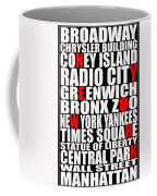 Graphic New York 3 Coffee Mug