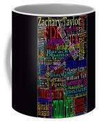 Graphic Presidents Coffee Mug