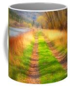 Grass And Shadows Coffee Mug