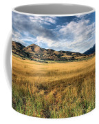Grassy Plains And Ancient Dunes Coffee Mug