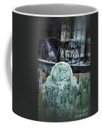 Gravestone With Dove Carved  Coffee Mug