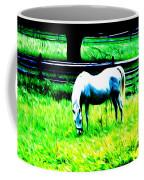 Grazing Horse Coffee Mug by Bill Cannon
