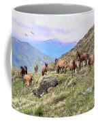 Grazing In The Foothills Coffee Mug
