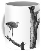 Great Blue Heron - Dead Pine Coffee Mug
