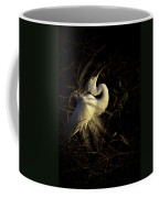 Great Egret In Great Light Coffee Mug