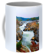 Great Falls On The Potomac River In Virginia Coffee Mug
