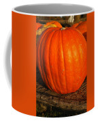 Great Orange Pumpkin Coffee Mug