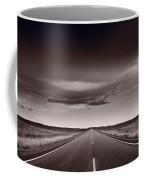 Great Plains Road Trip Bw Coffee Mug