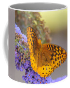 Great Spangled Fritillary Butterfly Coffee Mug