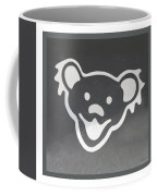 Greatful Dead Dancing Bear In Negative Coffee Mug