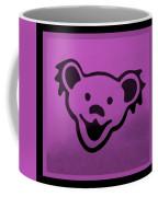 Greatful Dead Dancing Bear In Pink Coffee Mug