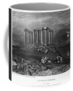 Greece: Cape Sounion, 1832 Coffee Mug