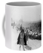 Greece Shepherds And Flocks - C 1909 Coffee Mug by International  Images
