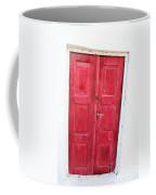 Greek Door Coffee Mug
