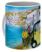 Greek Island Of Mykonis Coffee Mug