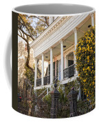 Greek Revival And The Tiny Pink Shoe - Garden District New Orleans Coffee Mug