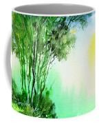 Green 1 Coffee Mug