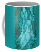 Green Angel Coffee Mug