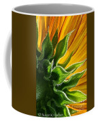 Green Backing Coffee Mug