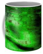 Green Brick Wall Coffee Mug