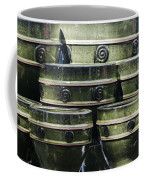 Green Circle Border Planters Coffee Mug