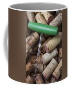 Green Corkscrew Coffee Mug by Garry Gay