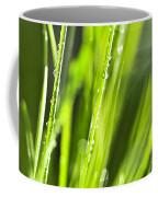 Green Dewy Grass  Coffee Mug