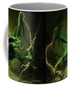 Green Dragon - Gently Cross Your Eyes And Focus On The Middle Image Coffee Mug