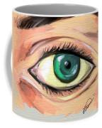 Green Eye Coffee Mug