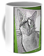 Green Eyed Monster Coffee Mug