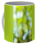 Green Forest And Blue Sky Coffee Mug