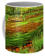 Green Forest River Coffee Mug