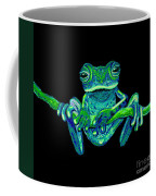 Green Ghost Frog Coffee Mug