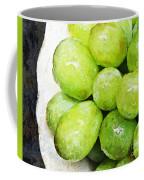 Green Grapes On A Plate Coffee Mug
