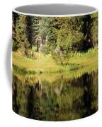 Green In Summit Lake Coffee Mug