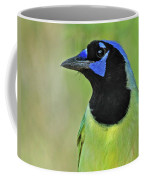 Green Jay Portrait Coffee Mug