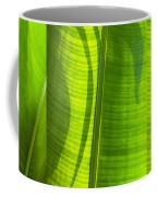 Green Leaf Coffee Mug by Setsiri Silapasuwanchai