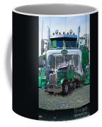 Green Peterbilt Dbl. Exposure Coffee Mug